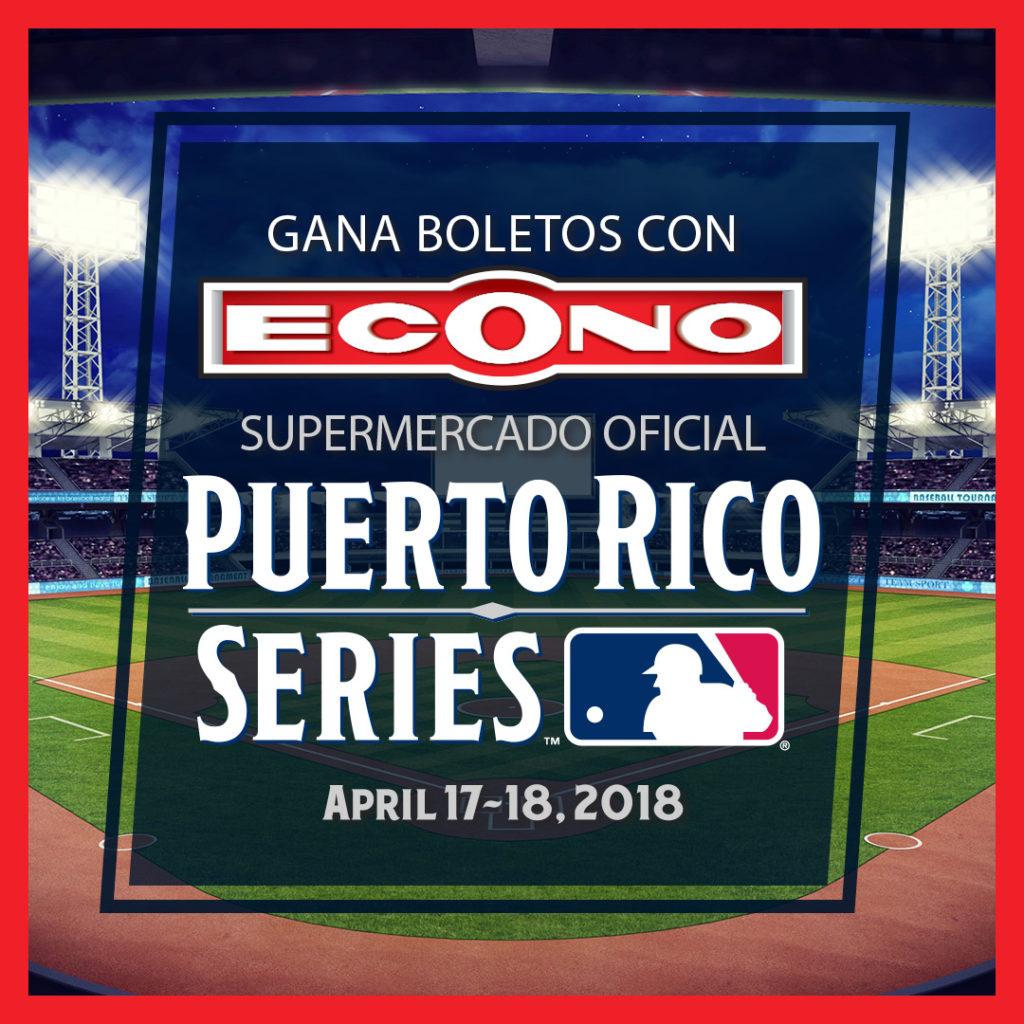Supermercados Econo te lleva al Puerto Rico Series