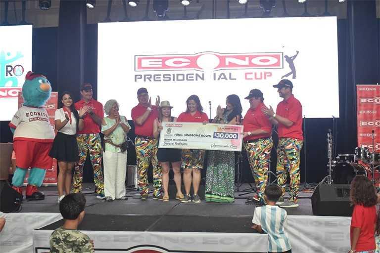 "Supermercados Econo celebra exitosamente su torneo de golf ""Presidential Cup"""